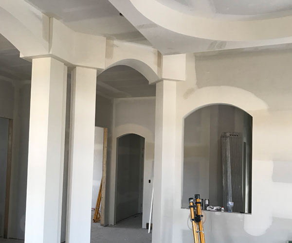 Custom Drywall installation